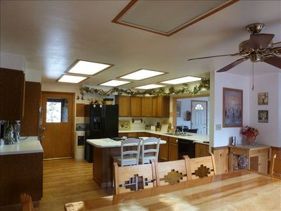 Kitchen and One Dining Area