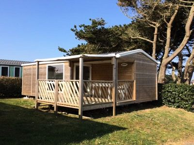 Photo for Camping La Pointe du Talud *** - Mobile home Loggia 3 Rooms 4/5 People
