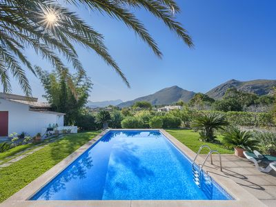 Photo for Villa Can Deia - on the very edge of Puerto Pollensa, 15 min stroll to town