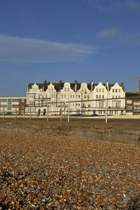 West Parade from the beach