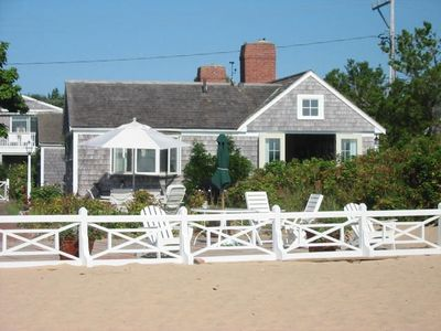 Photo for Waterfront Delft Haven Historic West End Cottage with Parking. Finest Location.