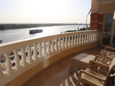Photo for Luxurious and Panoramic Nile view.