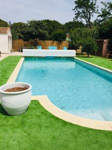 Photo for Holiday house near the beaches, swimming pool, jacuzzi.