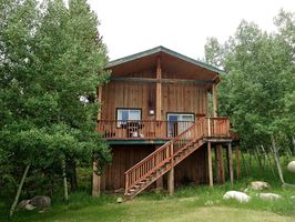 Photo for 2BR Cabin Vacation Rental in Centennial, Wyoming