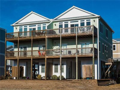 Photo for Why Worry: 3 BR / 3 BA town house in Topsail Beach, Sleeps 8