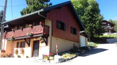Photo for Small comfortable cottage in the Land of Léman Haute Savoie.