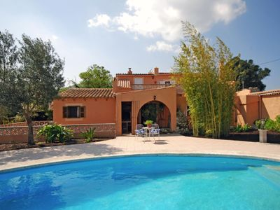 Photo for Comfortable country house for 6 people near the town of Alcudia and the beach