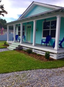 Photo for Gorgeous  beach cottage in the heart of Old Town Bay St. Louis
