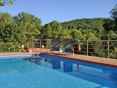 Photo for Pool villa for groups within walking distance of Sa Riera beach in Begur, Costa Brava – CB347