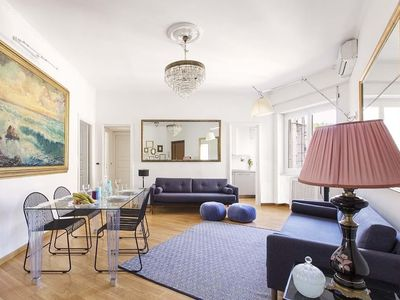 Photo for Apartment 619 m from the center of Rome with Internet, Air conditioning, Lift, Washing machine (677084)