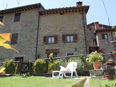 Photo for House / Villa - Ortignano-RaggioloHouse with garden (Florance and Arezzo)