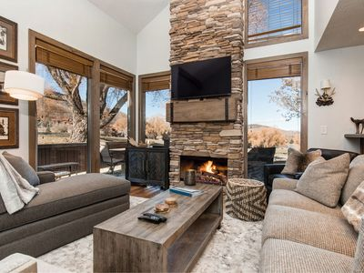 Photo for CDC Approved Cleaning! WALK TO SKI and More! PC Townhome on the Golf Course