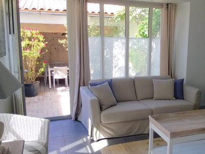 Photo for Renovated country house with charm, benefits included, beach at 600m
