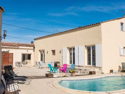 Photo for Nice and comfortable villa in lovely village crossed by the canal