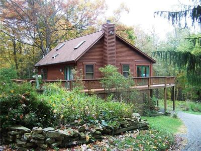 Photo for Great Log Cabin Located Near Deep Creek Lake.