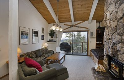 Photo for Ski In Ski Out to Eagle Lodge: 2 Bedroom & Small Loft with Private BBQ