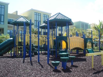 Playground (there are 2, plus basket and tennis courts and mini golf)