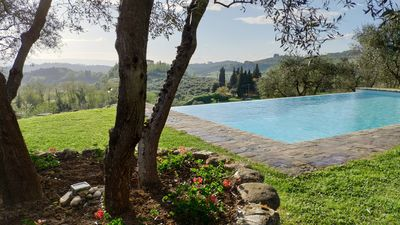Photo for SPECIAL PRICE ! Apartment in a Tuscan farmhouse with garden and swimming pool