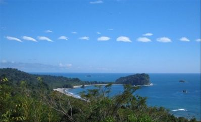 View of Manuel Antonio National Park.