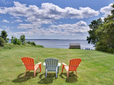 Photo for Enjoy your private beach and sweeping views! Weeks 7/21 and 8/18 available!