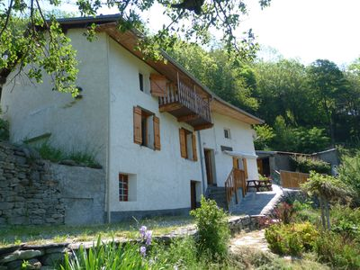 Photo for Orelle-3vallées Old house in hamlet of mountain (10 pers.) Calm and nature