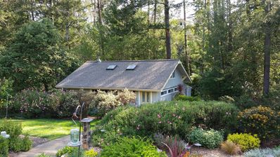 Photo for Owl Creek Cottage, Quiet Country Lane, Forest & Views With Private Hot Tub