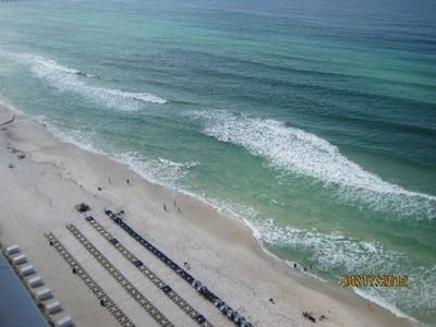 Beach view from your balcony