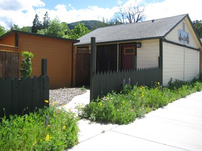 Photo for Zen Atmosphere Studio Cottage. Private Entrance & Healing Garden. Walk to Plays