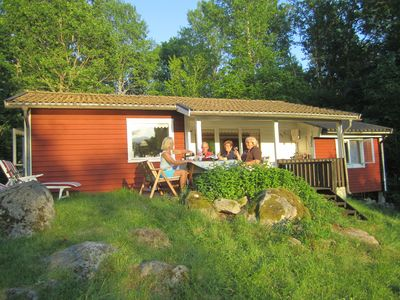 Photo for Family friendly holiday house on a large plot - right on the lake