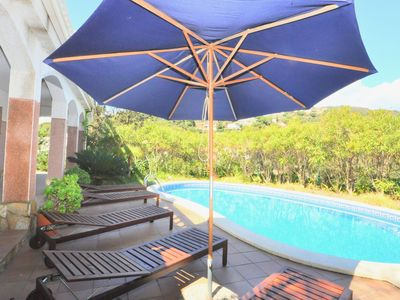 Photo for Villa Genova, 500m. to the beach, pool, air conditioning, heating, internet