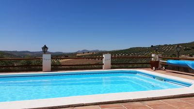 Photo for Las Estrellas, self catering in traditional cortijo in Andalucia with views