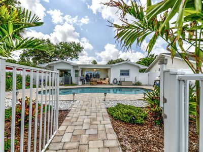 Photo for NEW LISTING    Waterfront beach home with pool and awesome Views !