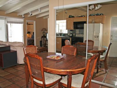 Photo for Home with Deck, Golf Cart, 1 Block to the Beach, Pet Friendly, WIFI
