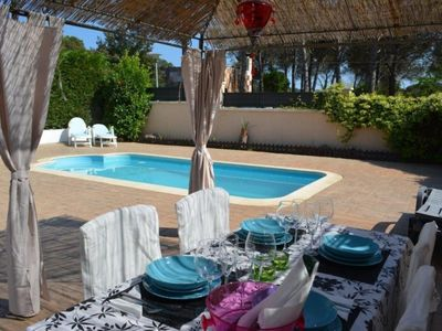Photo for Club Villamar - Modern brand new villa with private swimming pool,located in a quiet area, the pe...