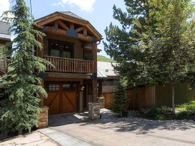 Photo for Mountain Lodge Style Home, Steps Away From Park City Lifts