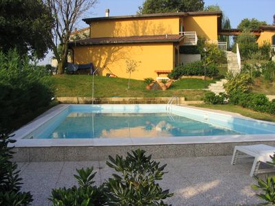 Photo for Terraced house with pool