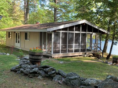 Photo for 2BR Cabin Vacation Rental in Tuftonboro, New Hampshire