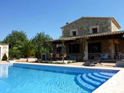 Photo for Comfortable Majorcan finca with pool a few minutes to the bay