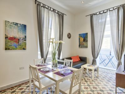 Photo for Spacious, Bright & Modern 1-bd Valletta Aparmtent