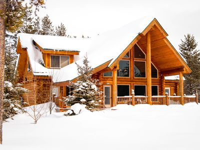 Photo for Beautiful Cabin - Sleeps 12 - Only 30 min drive to YNP Entrance!