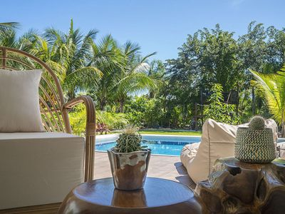 Photo for 2BR Villa private pool + kayaks & paddle boards