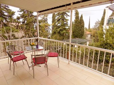 Photo for Two bedroom apartment with terrace and sea view Selce, Crikvenica (A-15244-a)