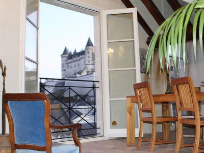 Photo for 3000 sq f, in the old  Saumur city , along the Loire river. Charm & great views