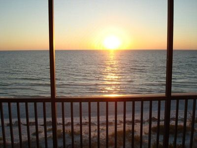 Photo for Sunset Terrace Beachfront 205 - Enjoy the gulf coast waters and sandy beaches!