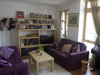 Photo for Large modern 1 bed balcony flat in London Fields & Broadway Market Near Pool