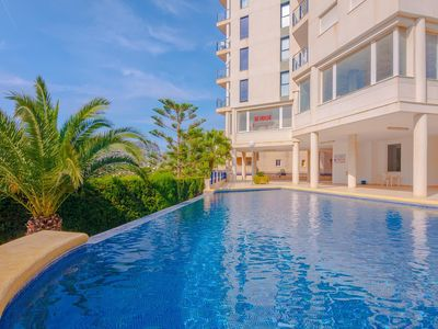 Photo for SILVIA, apartment in Calp, Alicante with communal pool