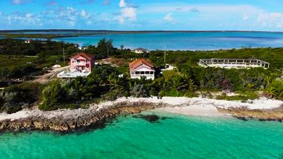 Photo for Secluded & Quiet Waterfront w/private beach + CAR RENTAL near FYRE Festival site