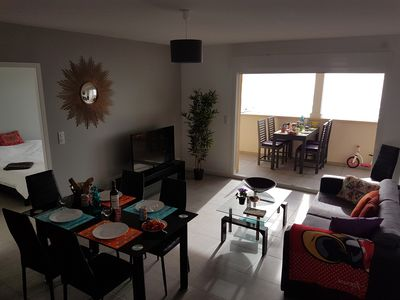 Photo for T4 85m2 + Terrace 15m2 SEA VIEW, 8 people, Free WIFI, Parking included, N ° 3
