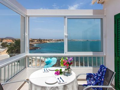 Photo for Coral Bay, beachfront apartment