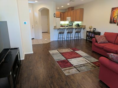 Photo for Beautiful, newer townhome, very close to Magic Mountain!
